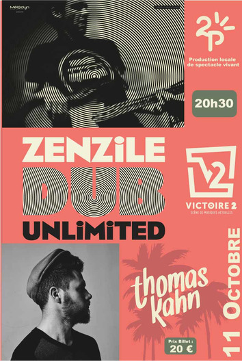 Photo évènement ZENZILE DUB UNLIMITED